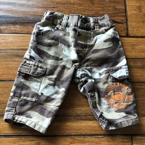 Brown camo jeans